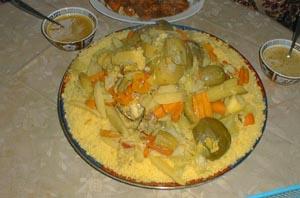 Maghrebinische und arabische Küche